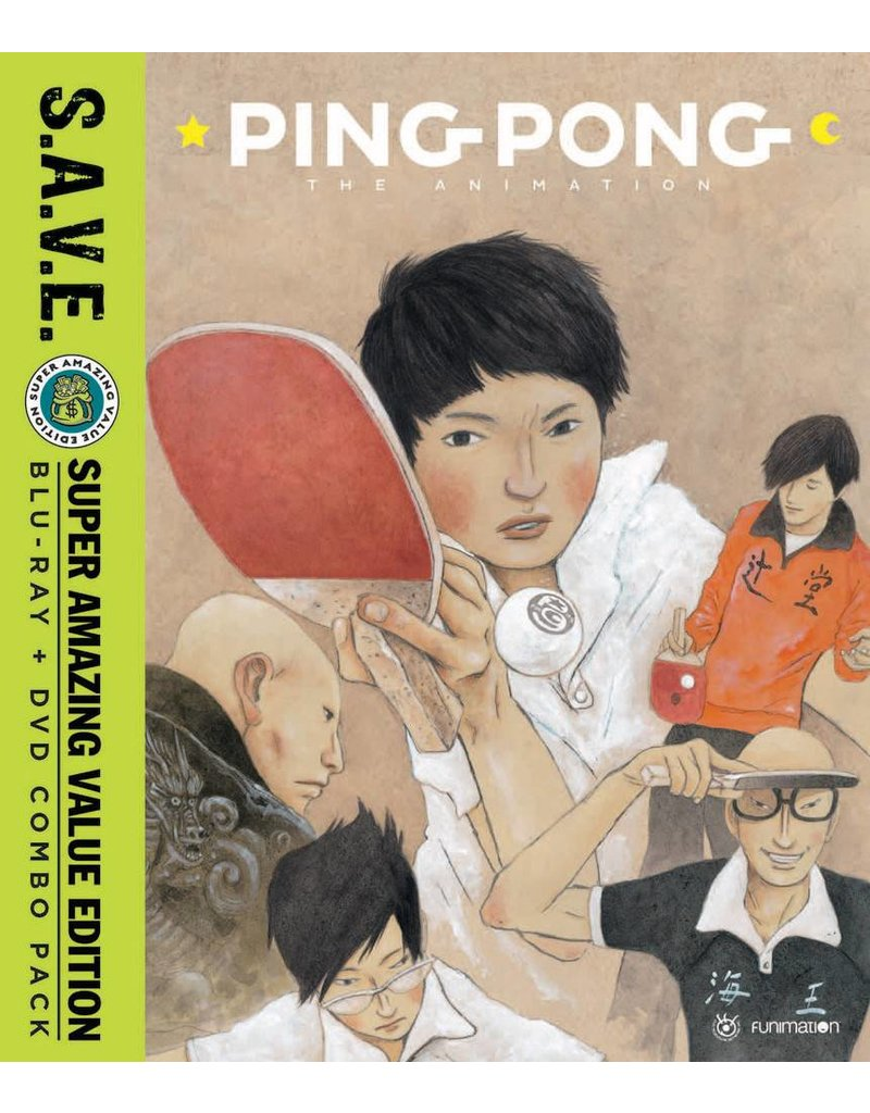 Funimation Entertainment Ping Pong the Animation (S.A.V.E. Edition) Blu-Ray/DVD*