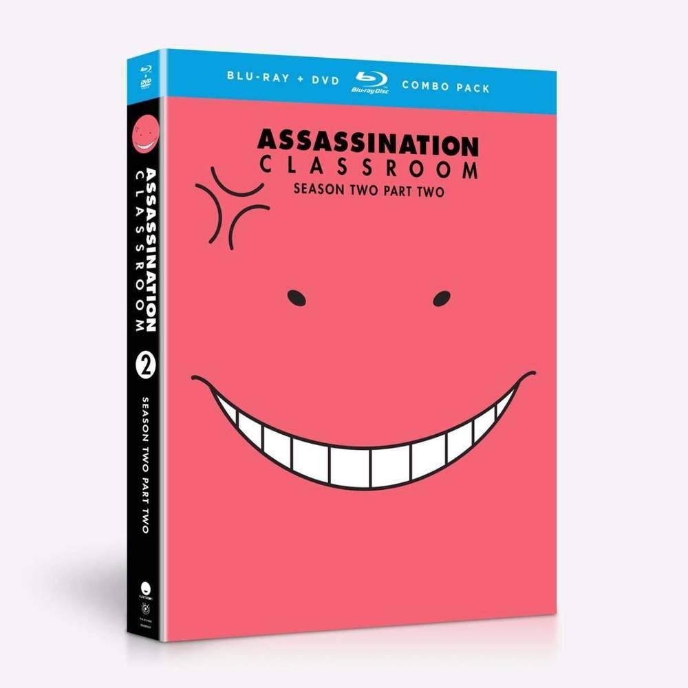 Funimation Entertainment Assassination Classroom Season 2 Part 2 Blu-Ray/DVD*