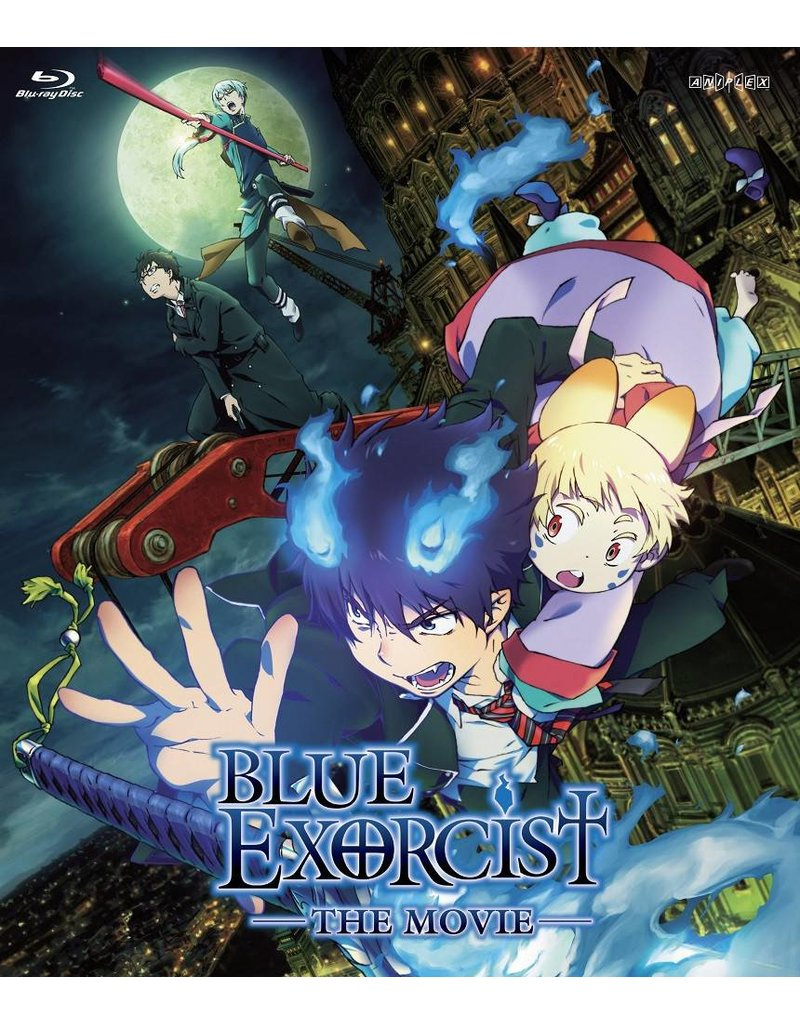 Aniplex of America Inc Blue Exorcist The Movie Blu-ray