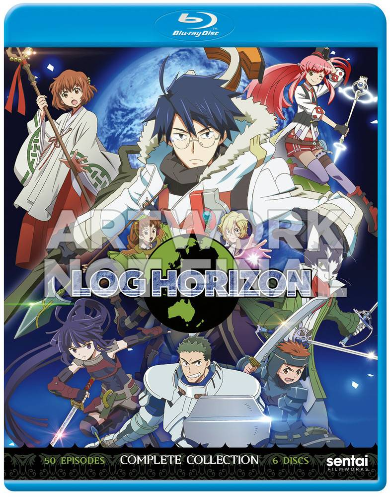 Sentai Filmworks Log Horizon Complete Collection Blu-Ray