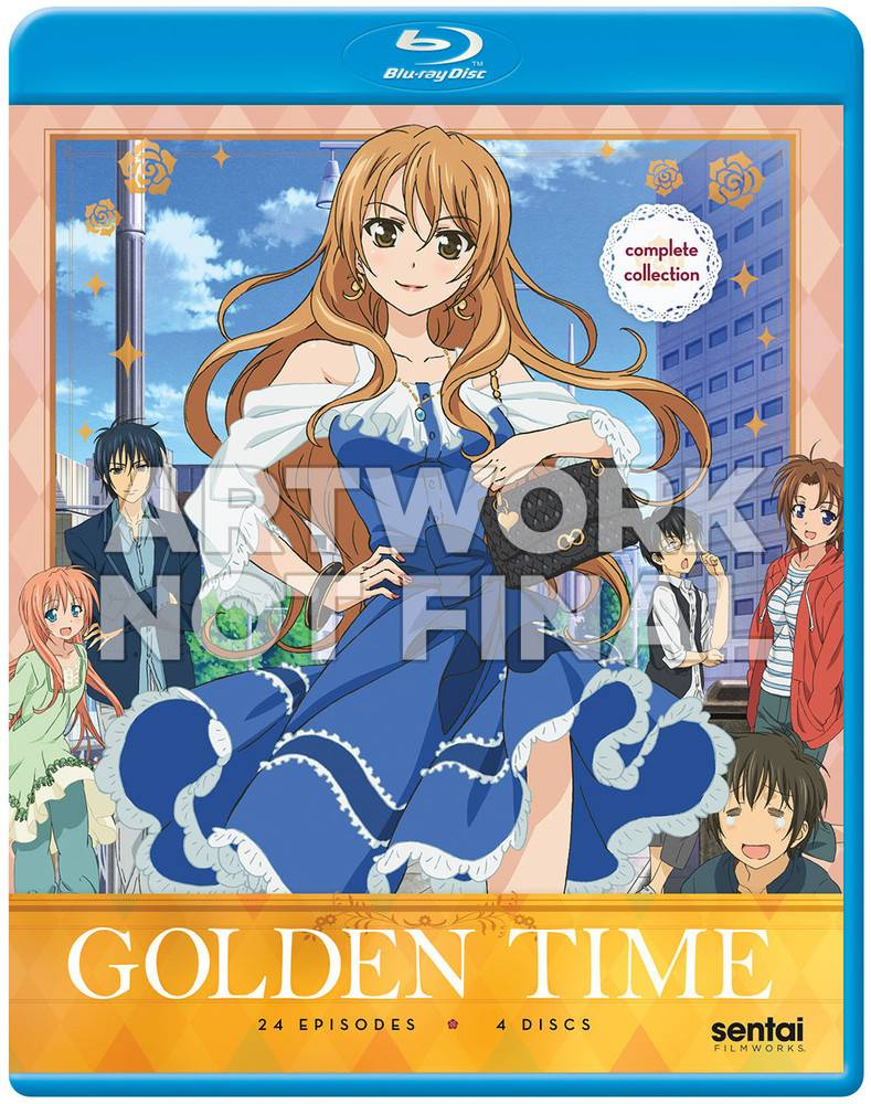 Sentai Filmworks Golden Time Complete Collection Blu-Ray