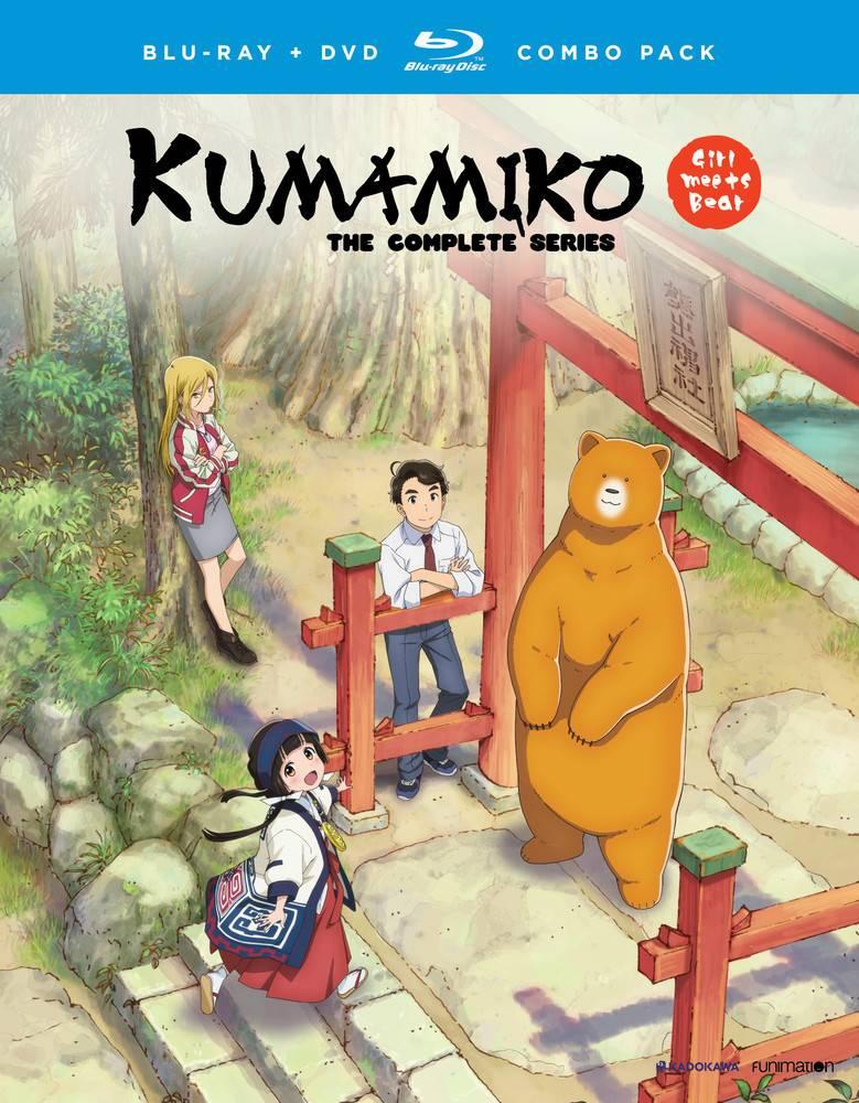 Funimation Entertainment Kumamiko Girl Meet Bear Blu-Ray/DVD*