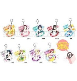 Love Live Sunshine Acrylic Keychain (Swimsuit Vers.)