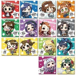 Idolm@ster Trading Square Can Badge Collection