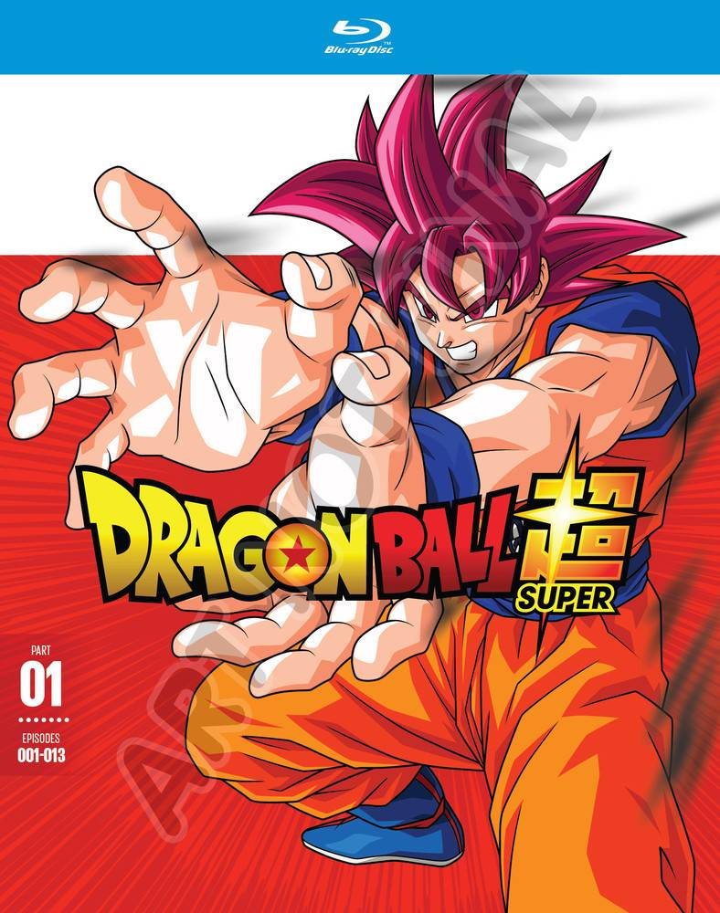 Funimation Entertainment Dragon Ball Super Part 1 Blu-Ray