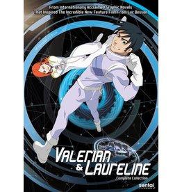 Sentai Filmworks Time Jam: Valerian and Laureline DVD