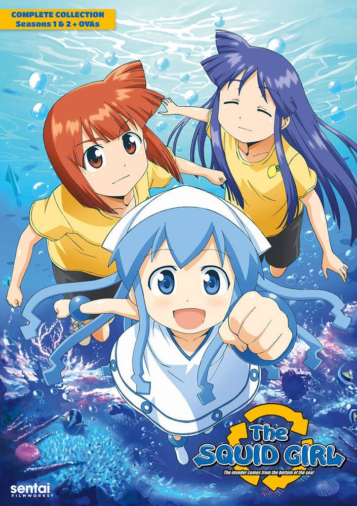 Sentai Filmworks Squid Girl Complete Collection DVD*