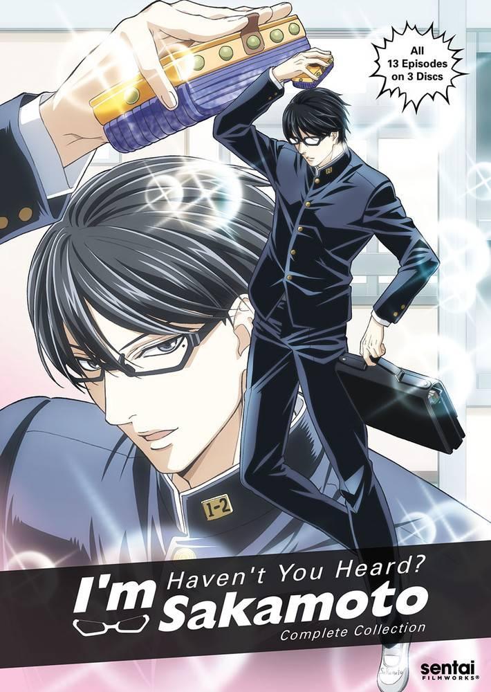 Sentai Filmworks Haven't You Heard? I'm Sakamoto DVD