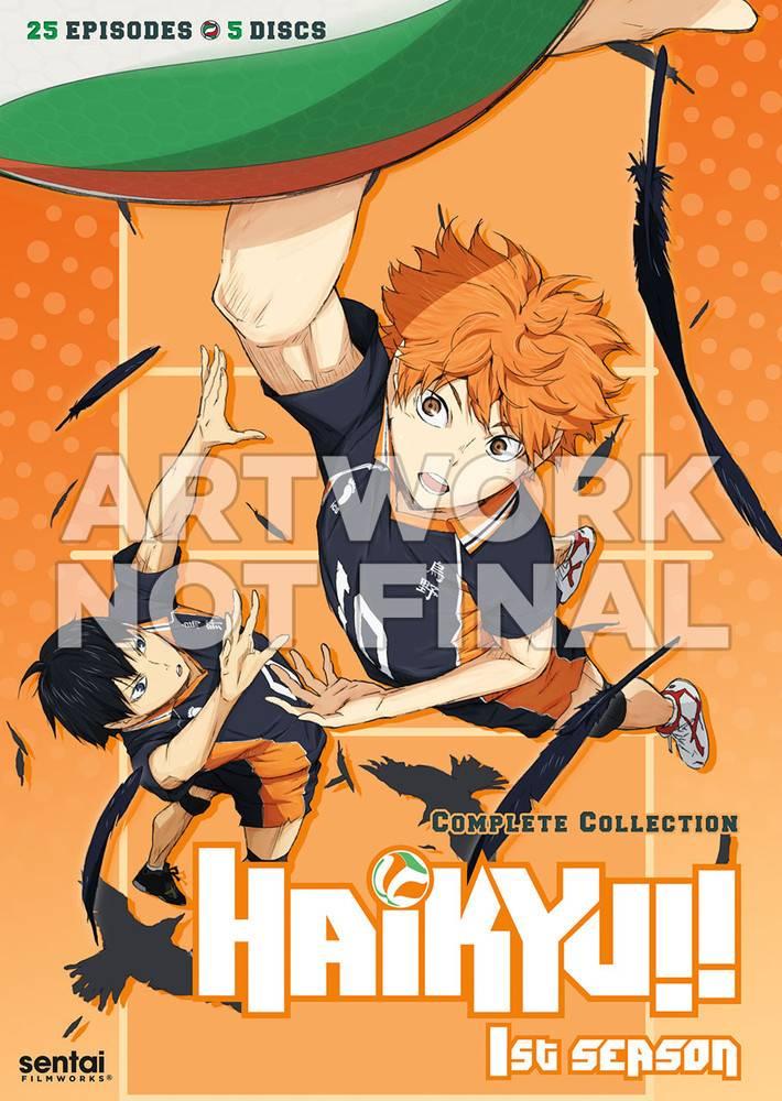 Sentai Filmworks Haikyu!! Complete Season 1 DVD