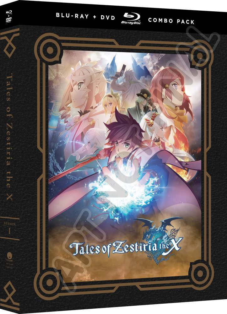 Funimation Entertainment Tales Of Zestiria the X Season 1 Blu-Ray/DVD*