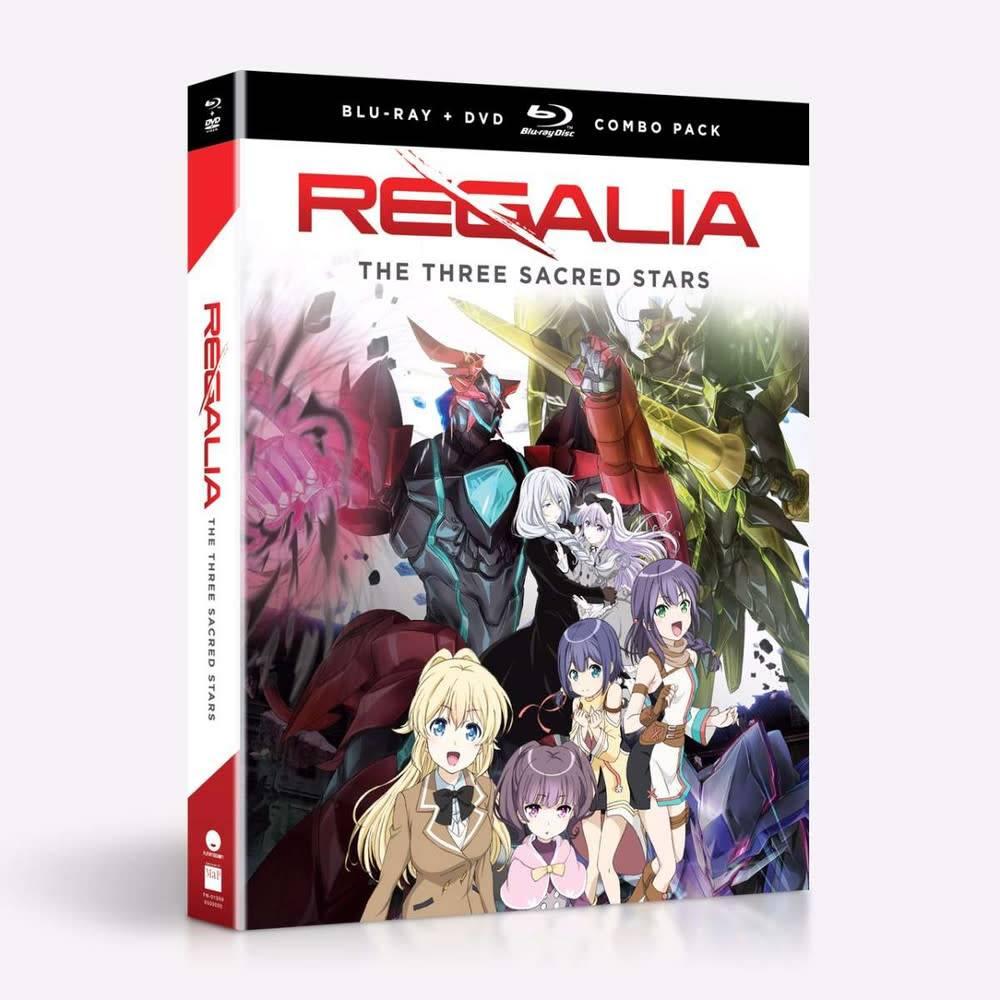 Funimation Entertainment Regalia the Three Sacred Stars Blu-Ray/DVD*