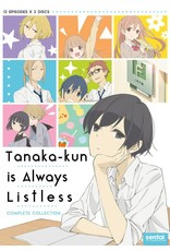 Sentai Filmworks Tanaka-Kun Is Always Listless DVD