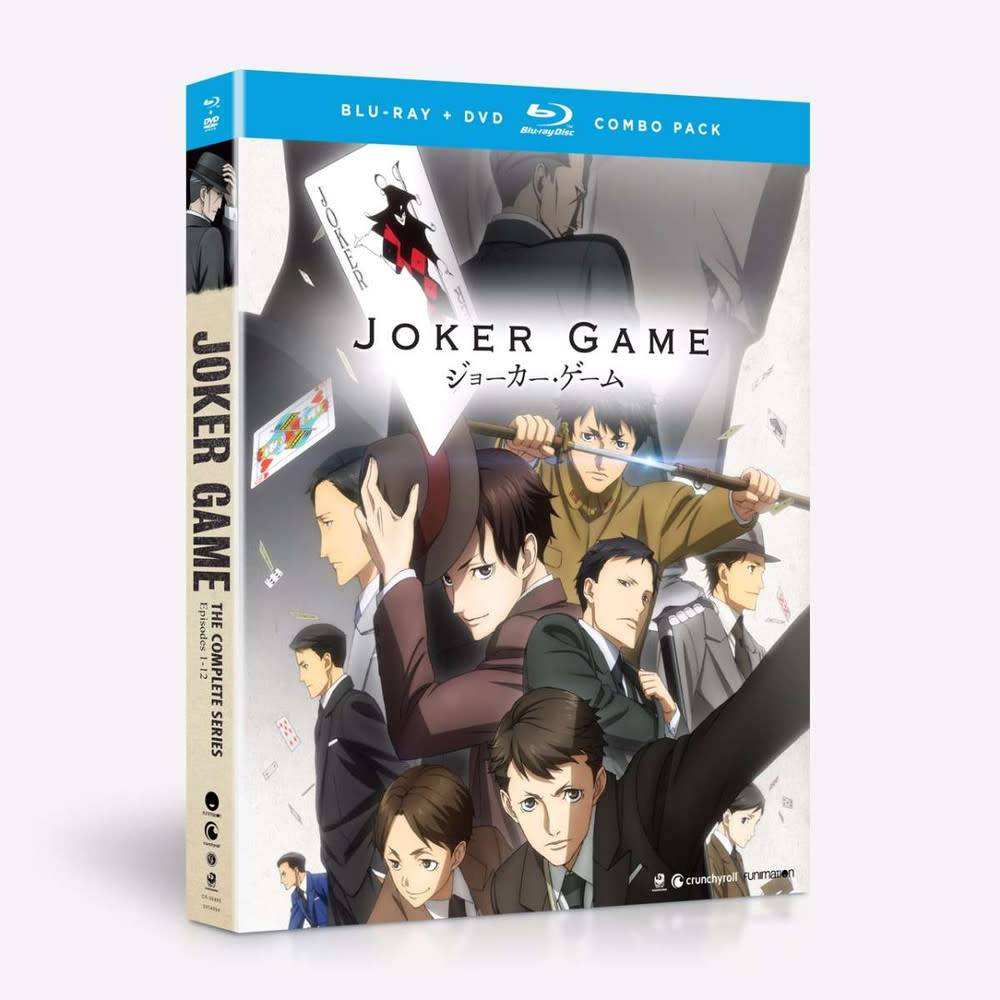 Funimation Entertainment Joker Game Blu-Ray/DVD*