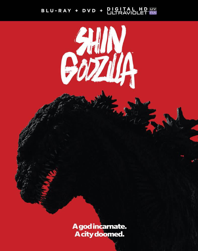 Funimation Entertainment Shin Godzilla Blu-Ray/DVD + UV