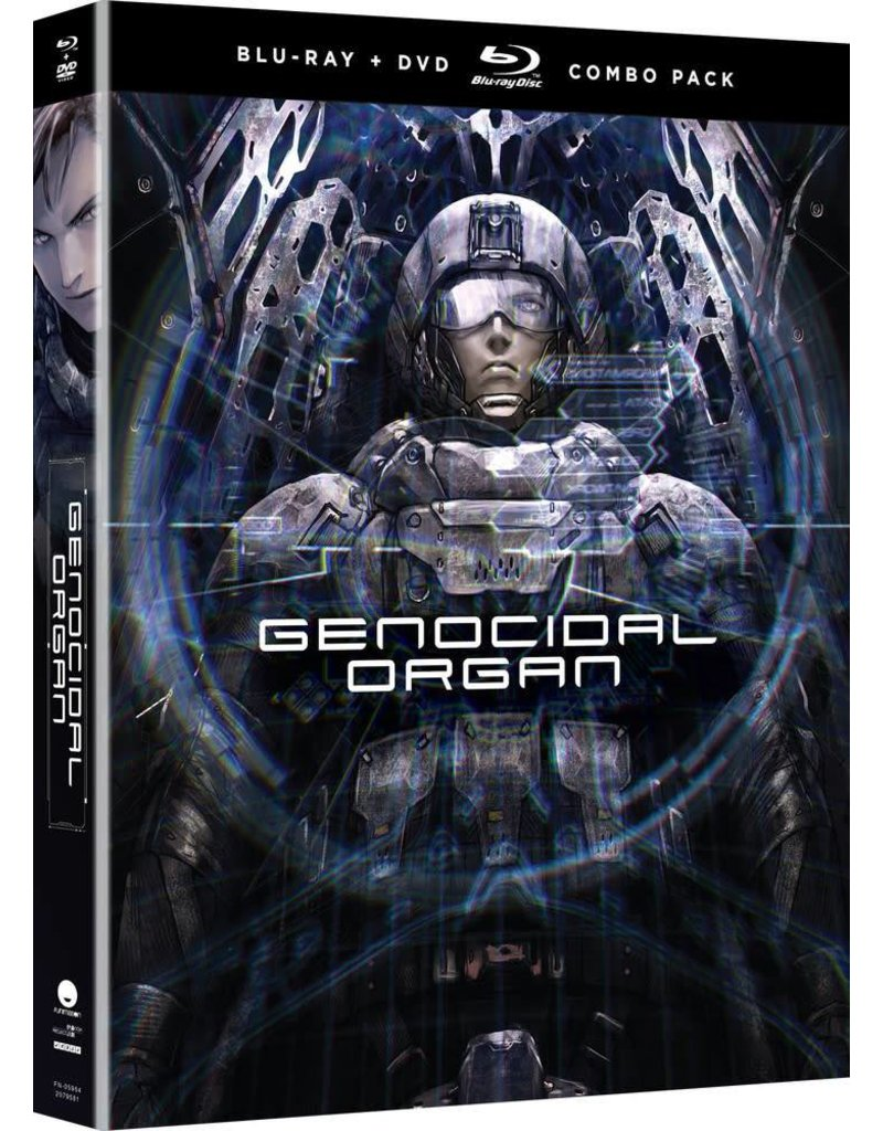 Funimation Entertainment Genocidal Organ Blu-Ray/DVD + UV