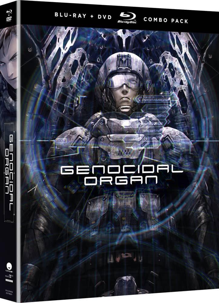 Funimation Entertainment Genocidal Organ Blu-Ray/DVD + UV
