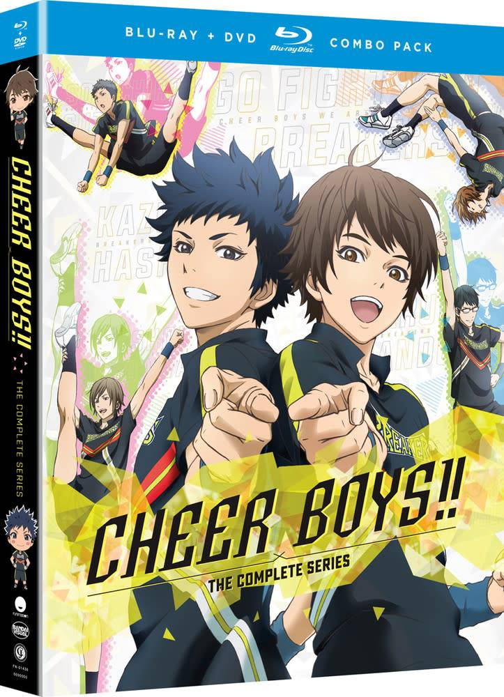 Funimation Entertainment Cheer Boys!! Blu-Ray/DVD*