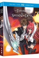 Funimation Entertainment Testament of Sister New Devil Season 1 + OVA Blu-Ray/DVD