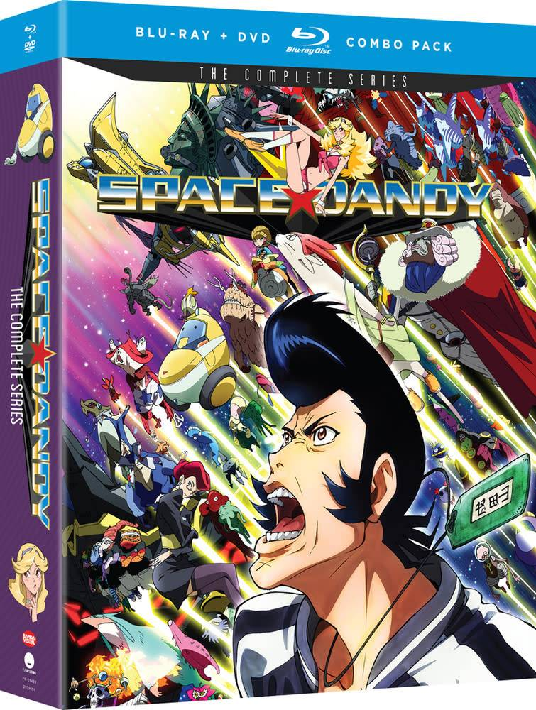 Funimation Entertainment Space Dandy Complete Series Blu-Ray/DVD
