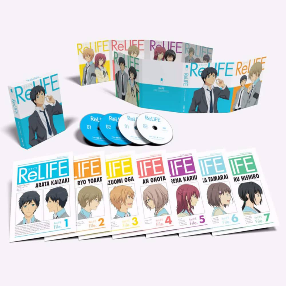 Funimation Entertainment ReLIFE Blu-Ray/DVD LE*