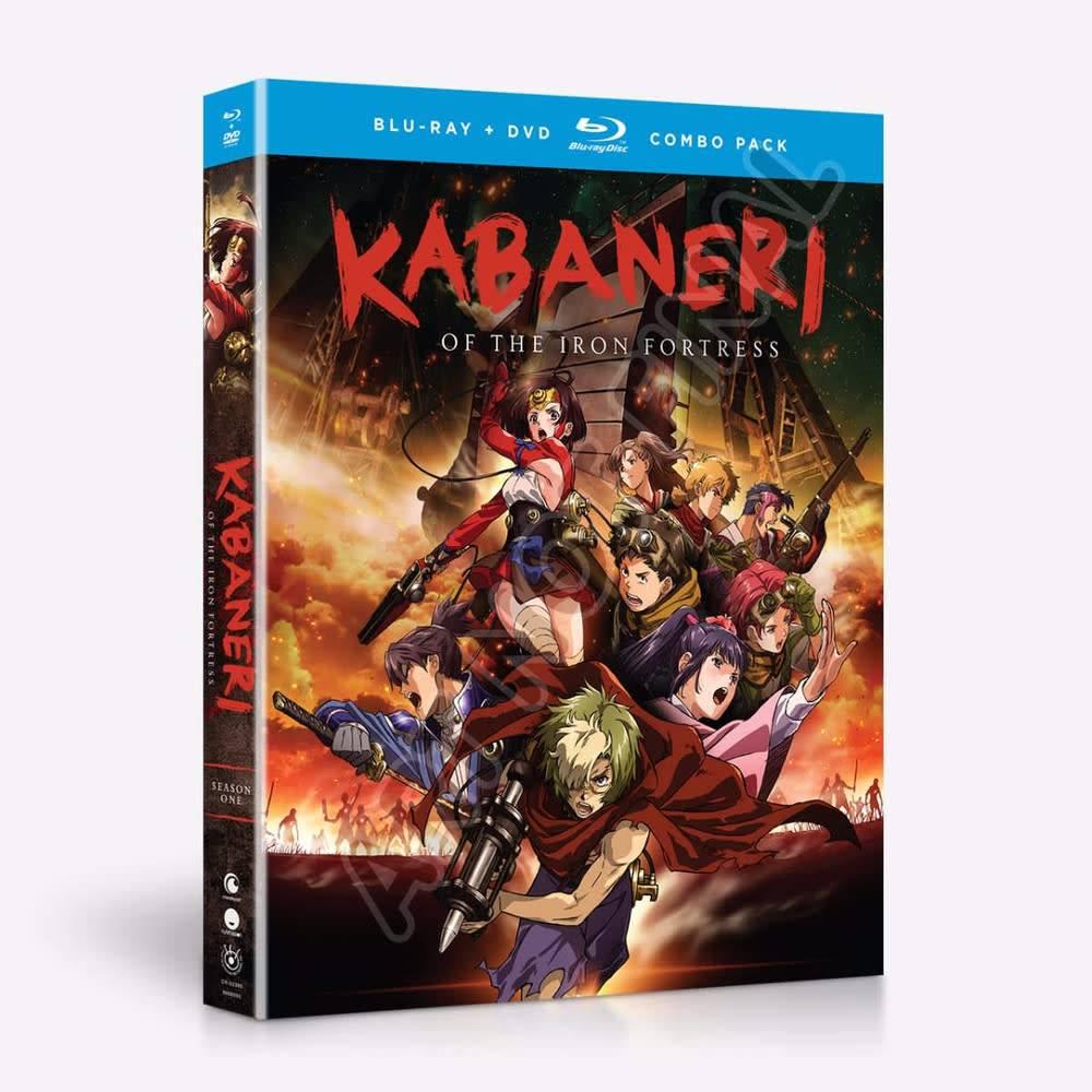 Funimation Entertainment Kabaneri of the Iron Fortress Season 1 Blu-Ray/DVD*
