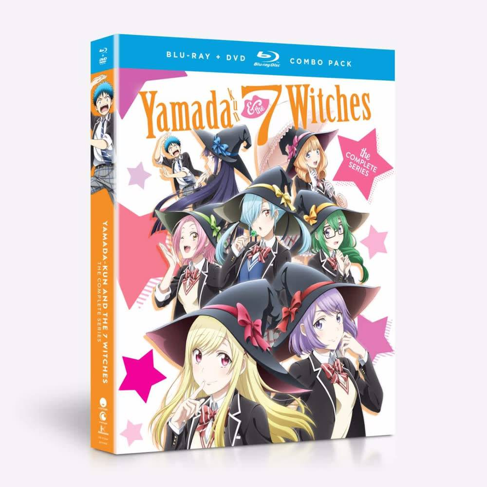 Funimation Entertainment Yamada-kun and the Seven Witches Blu-Ray/DVD*