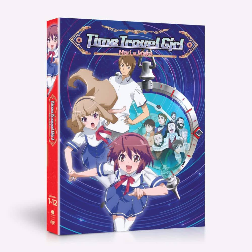 Funimation Entertainment Time Travel Girl DVD