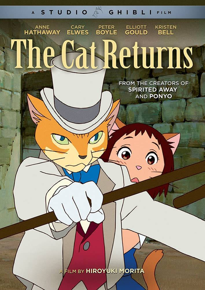 GKids/New Video Group/Eleven Arts Cat Returns,The DVD (GKids)