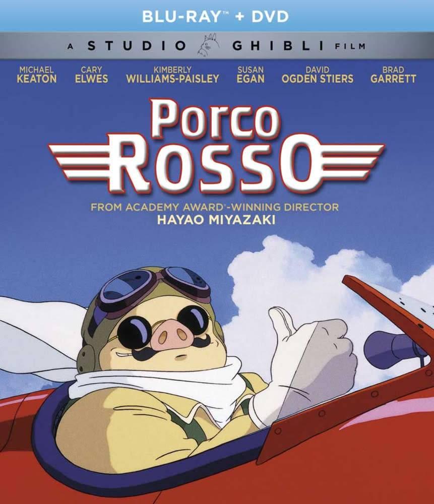 Studio Ghibli/GKids Porco Rosso Blu-Ray/DVD (GKids)