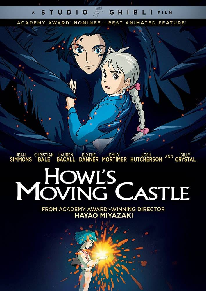 GKids/New Video Group/Eleven Arts Howl's Moving Castle DVD (GKids)