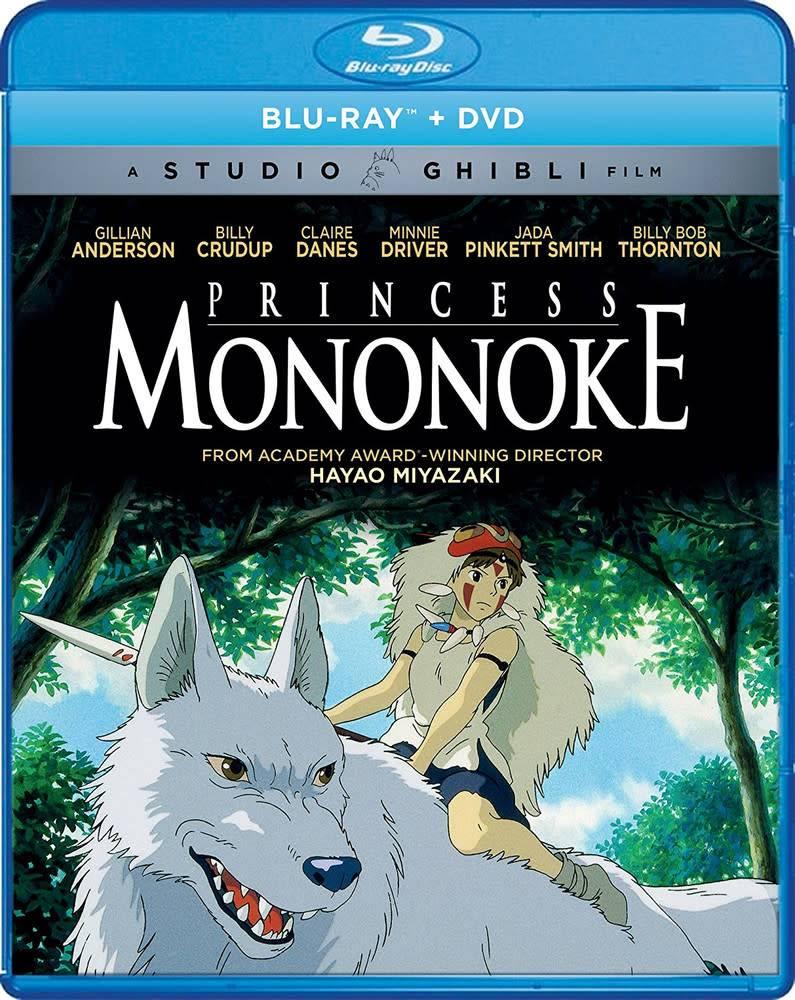 GKids/New Video Group/Eleven Arts Princess Mononoke Blu-Ray/DVD (GKids)