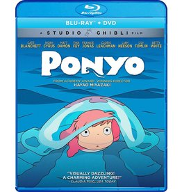 GKids/New Video Group/Eleven Arts Ponyo BD/DVD (GKids)