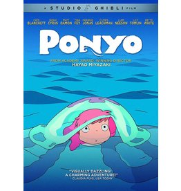 GKids/New Video Group/Eleven Arts Ponyo DVD (GKids)