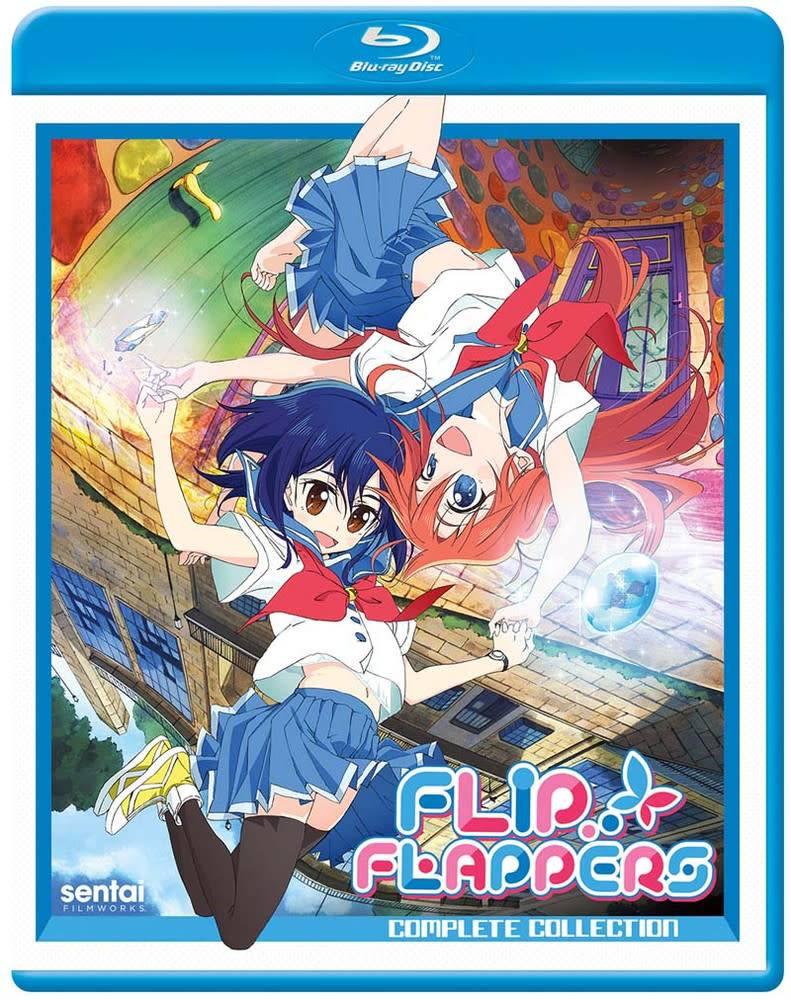 Sentai Filmworks Flip Flappers! Blu-Ray