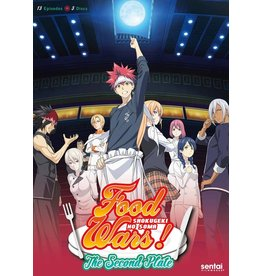 Sentai Filmworks Food Wars! The Second Plate (Season 2) DVD*