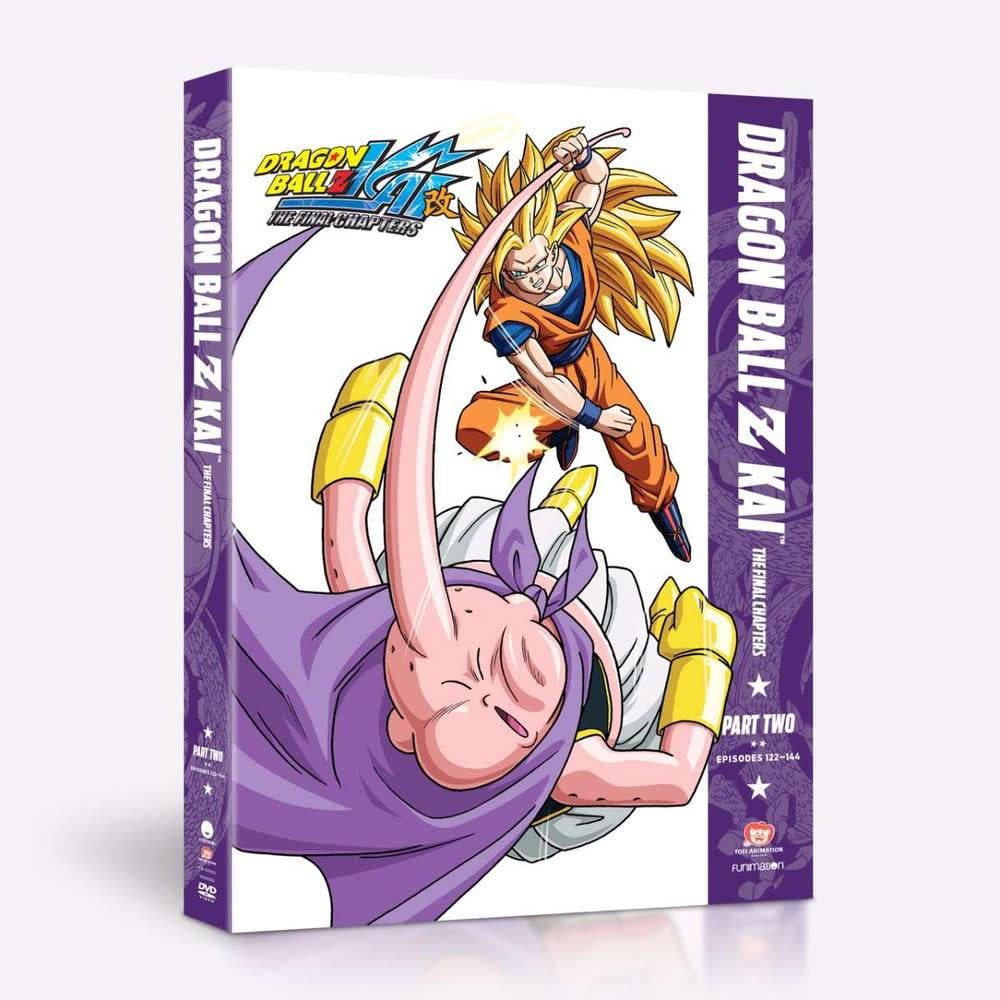Funimation Entertainment Dragon Ball Z Kai - The Final Chapters Part 2 DVD