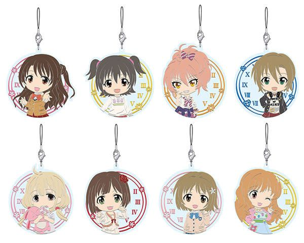 Good Smile Company Im@s CG Nendoroid Plus Rubber Straps Vol.1