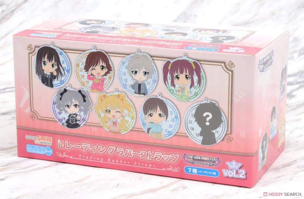 Good Smile Company Im@s CG Nendoroid Plus Rubber Straps Vol.2