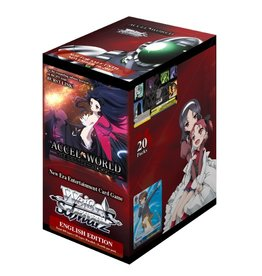 Bushiroad Accel World Infinite Burst (Booster Box) Weiss Schwarz