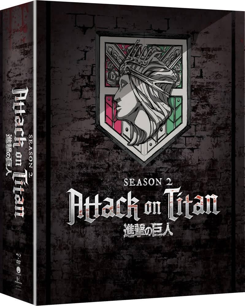 Funimation Entertainment Attack on Titan Season 2 Blu-Ray/DVD LE