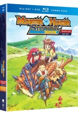 Funimation Entertainment Monster Hunter Stories Ride On Season 1 Part 1 Blu-Ray/DVD