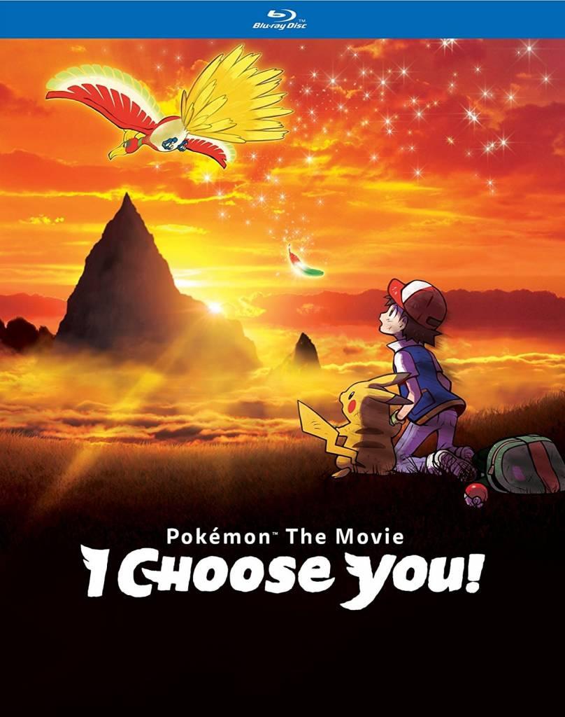 Viz Media Pokemon the Movie: I Choose You! Blu-Ray