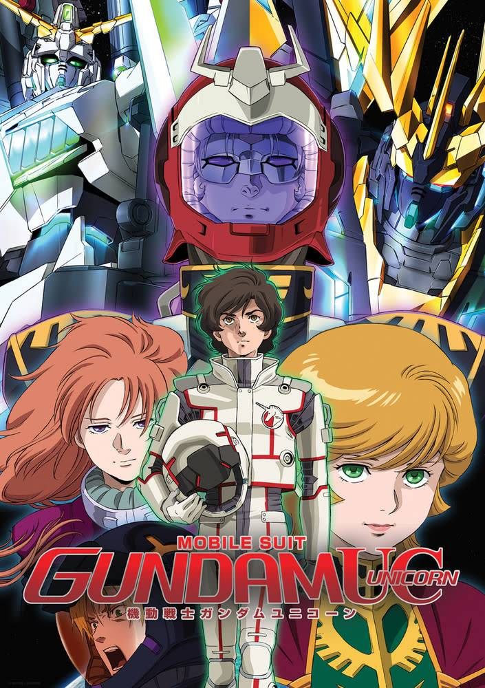 Nozomi Ent/Lucky Penny Gundam UC (Unicorn) DVD Collection
