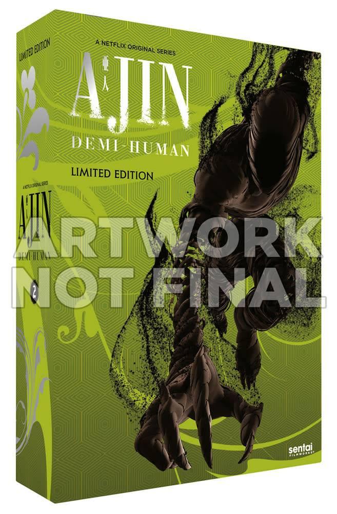 Sentai Filmworks Ajin Season 2 Premium Edition Blu-Ray/DVD