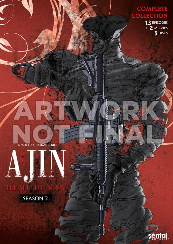 Sentai Filmworks Ajin Season 2 DVD*