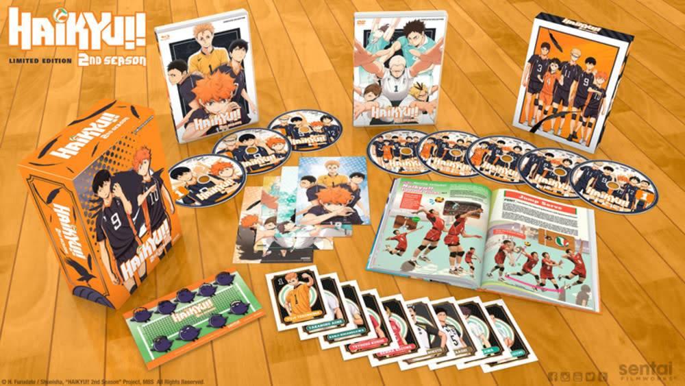 Sentai Filmworks Haikyu!! Complete Season 2 Premium Edition