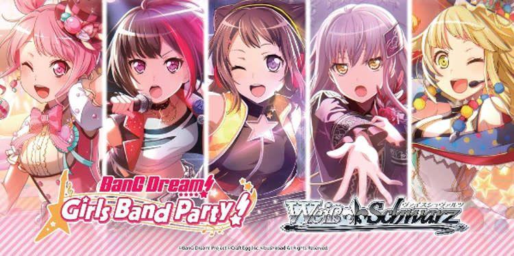 Bushiroad BanG Dream! Girls Band Party! (Full Booster Box) Weiss Schwarz