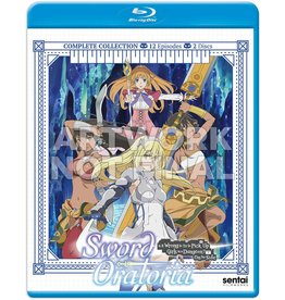 Sentai Filmworks Sword Oratoria Is It Wrong To Pick Up Girls In A Dungeon? On The Side Blu-Ray