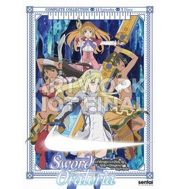 Sentai Filmworks Sword Oratoria Is It Wrong To Pick Up Girls In A Dungeon? On The Side DVD