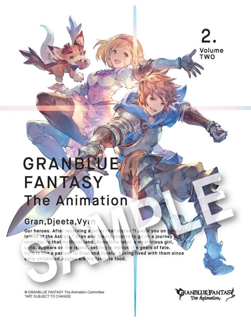 Aniplex of America Inc Granblue Fantasy The Animation Blu-Ray Vol. 2